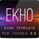 EKHO Unique Joomla Template